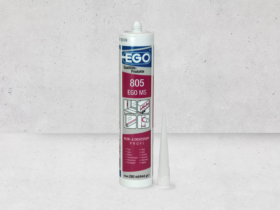 EGO, de nieuwe elastische afdichtingskit voor verbetering van het wandoppervlak – nu nog beter!