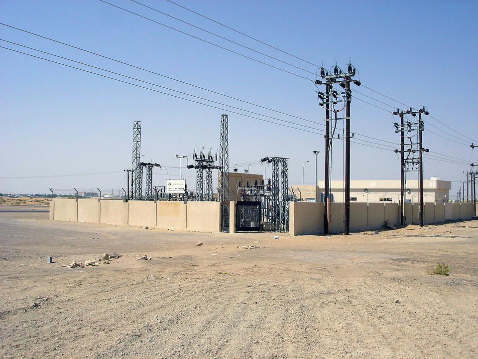 Sous-stations électriques au sultanat d'Oman