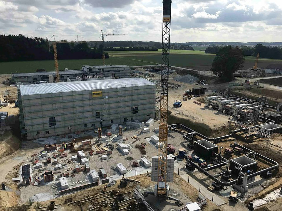NOUVELLE CONSTRUCTION D'UNE STATION DE COMPRESSION À WERTINGEN