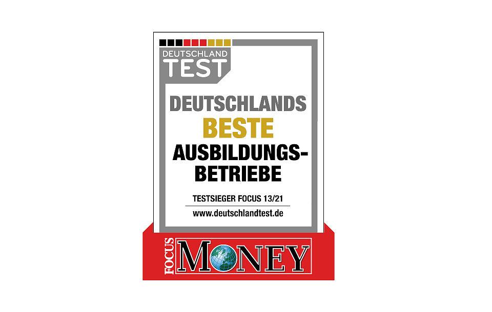 """Hauff-Technik erhält das Deutschlandtest-Siegel """"Deutschlands beste Ausbildungsbetriebe 2021"""""""