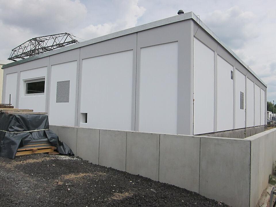 Neubau des Umspannwerks Meissen
