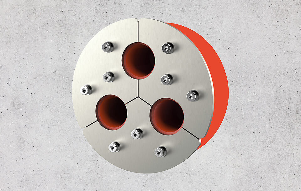 Sichere Durchführung von Kabel oder Rohren in Lagerbehälter von Biogas- und JGS-Anlagen