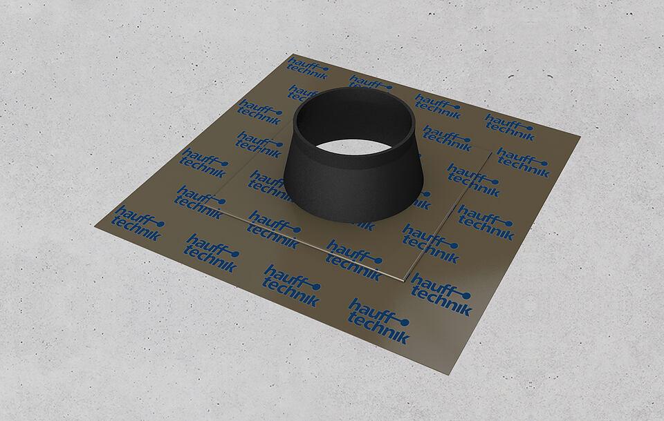 Hauff foil sleeves – gastight, airtight, radon-proof