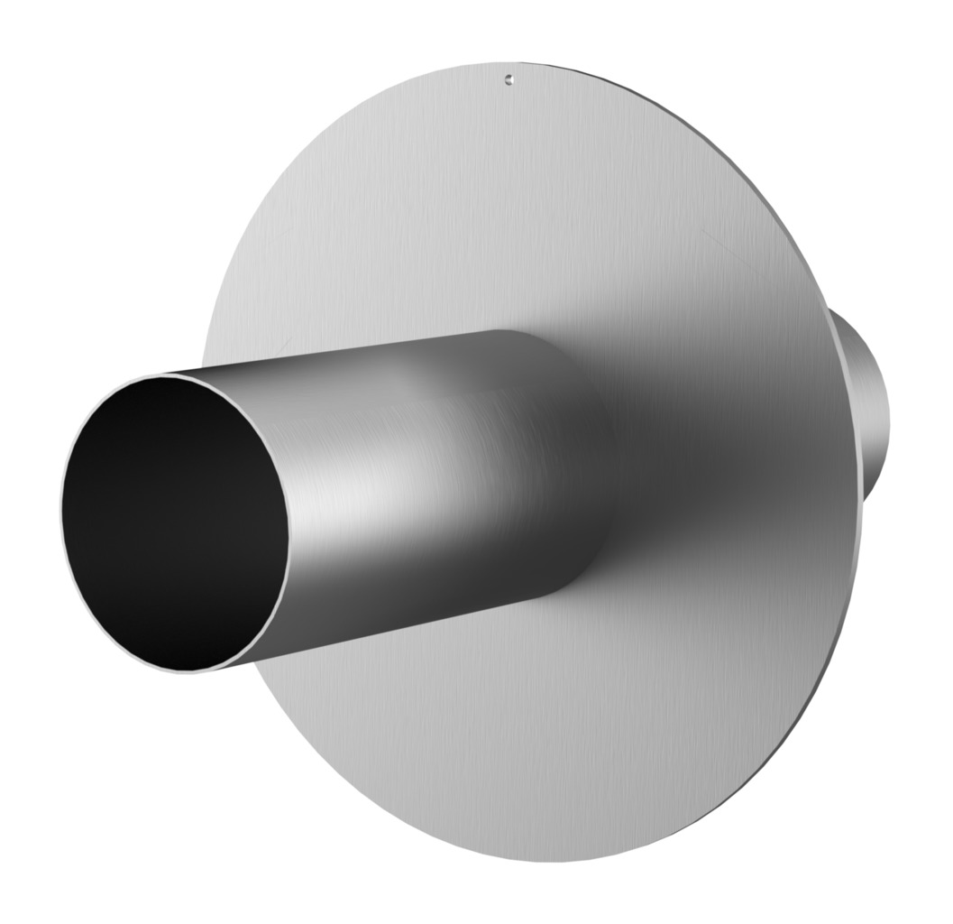 Stainless Steel Wall Sleeve With Puddle Flange Hrd Fum